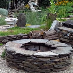smokeless firepit